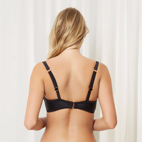 MORE Caspian Wired Bikini Top Black