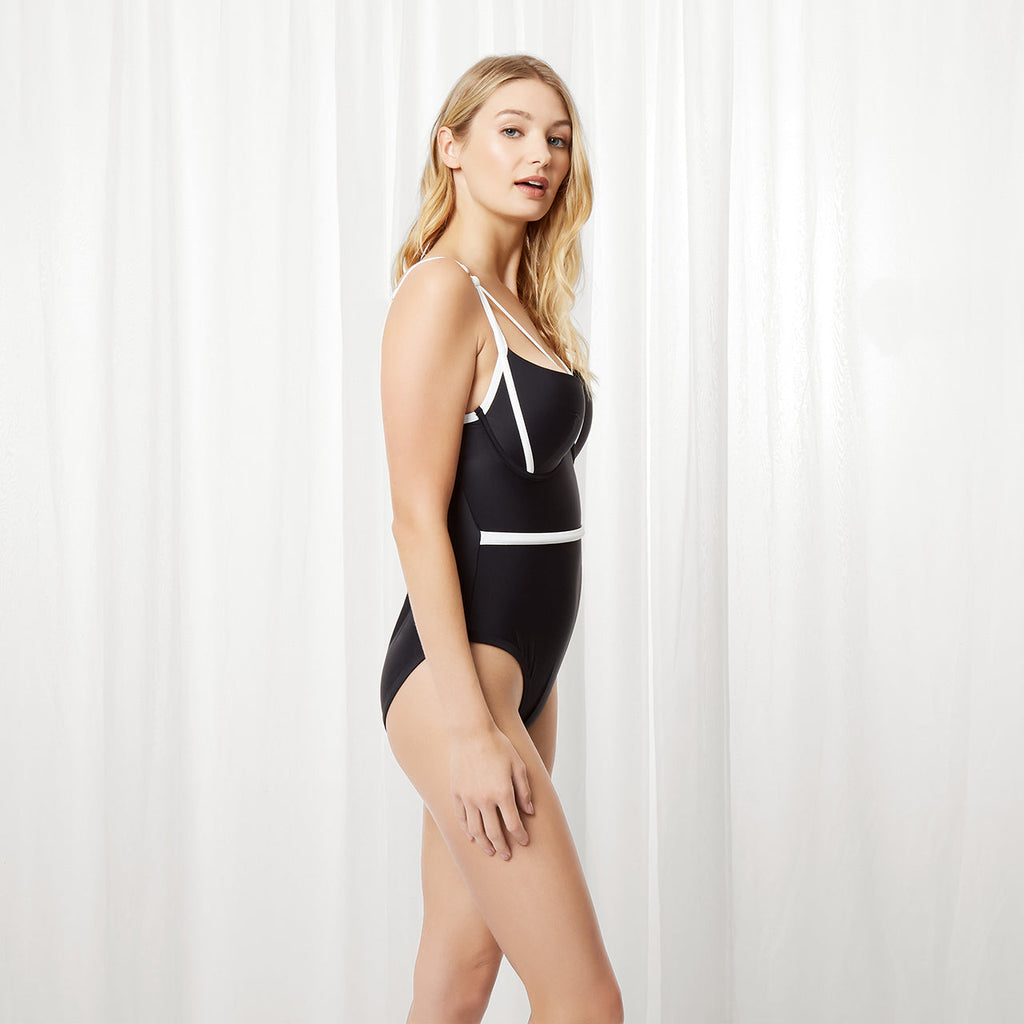MORE Mawson Swimsuit Black