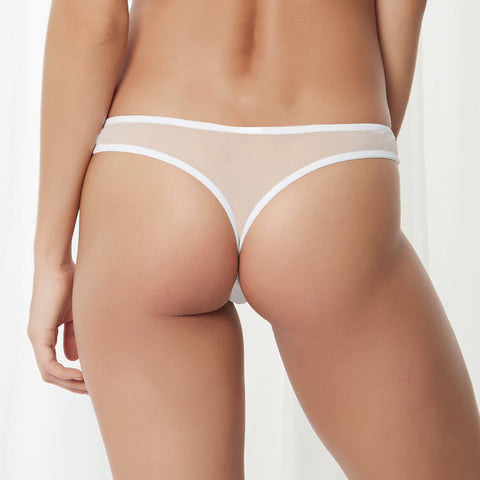 Addison Thong White