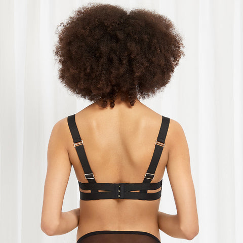 Liya Bra Rose Dust/Black