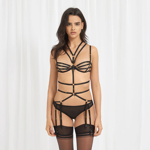 Sera Harness Black