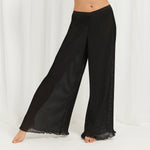 Atalanta Cami and Trouser Set Black