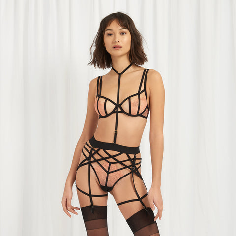 Bellana Harness Suspender Black