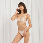 Priscilla Brief Pale Pink