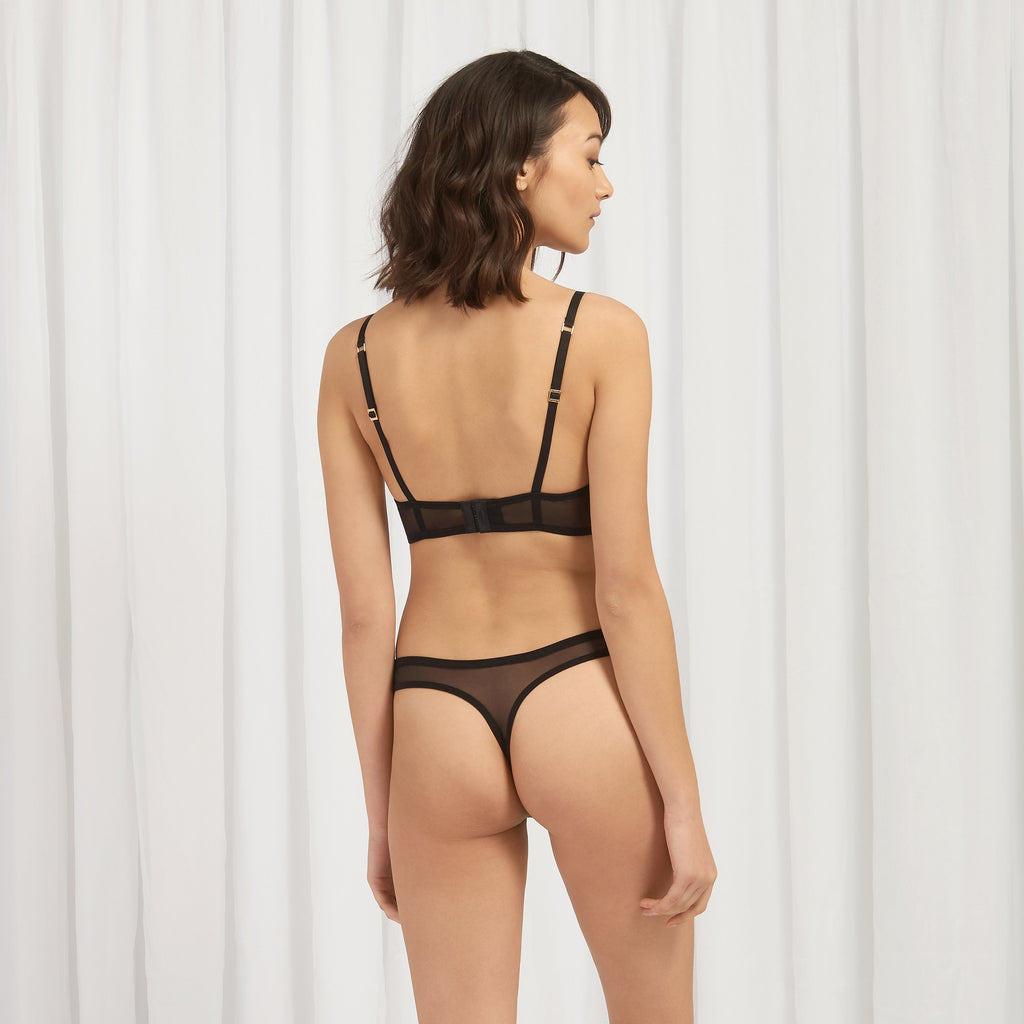 Sandrine Thong Black