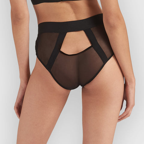Hale High Waist Brief Black