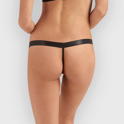 Sawyer Thong Black