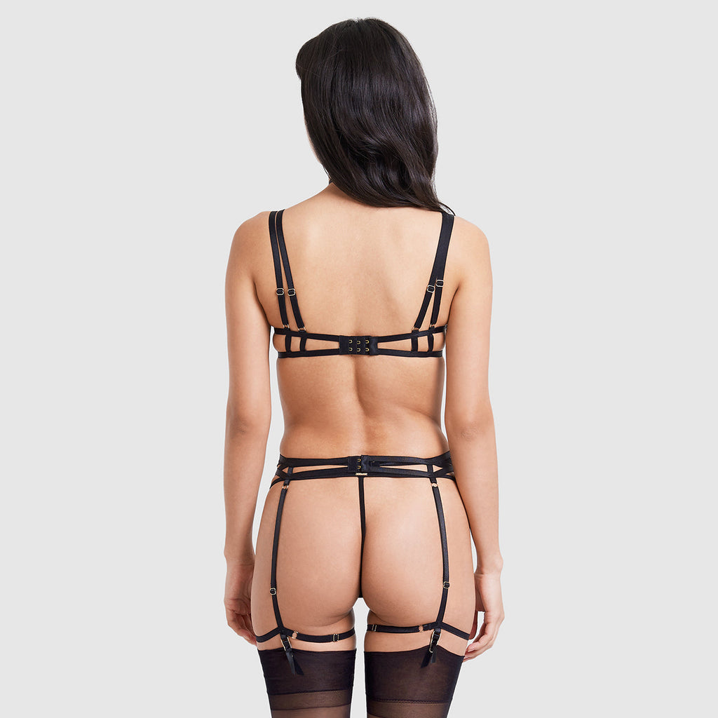 Mali Suspender Harness Black