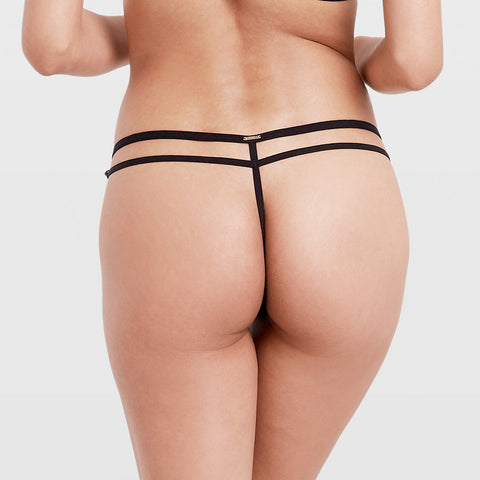 Milana Thong Black