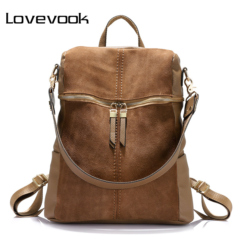 LOVEVOOK brand vintage women backpack