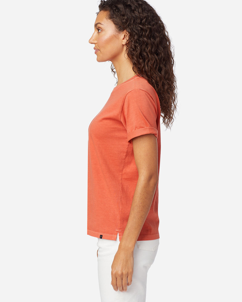 Deschutes Tee Spiced Orange Women's
