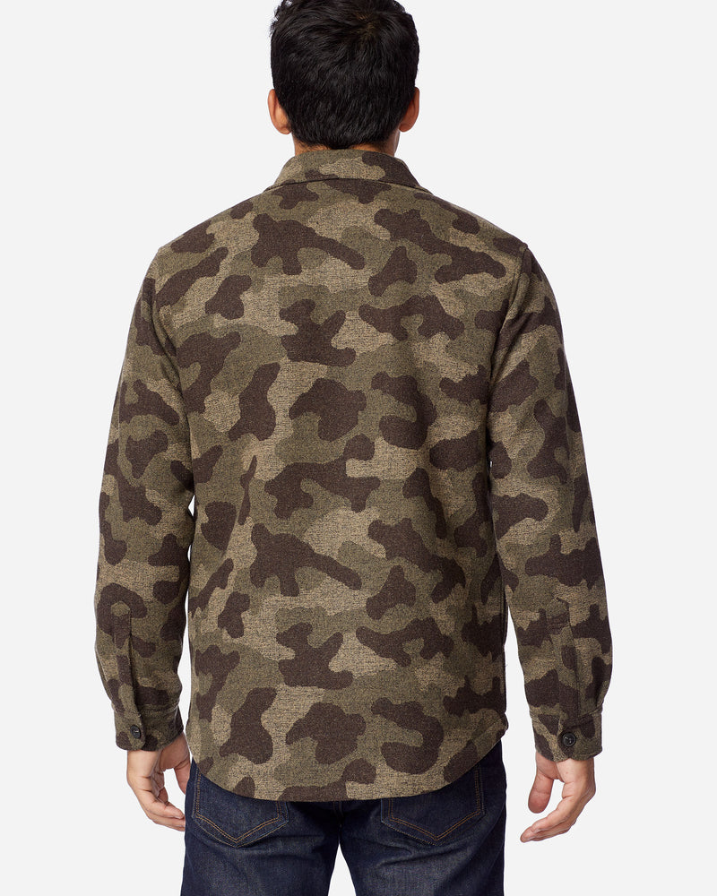 Quilted Camo CPO Jacket