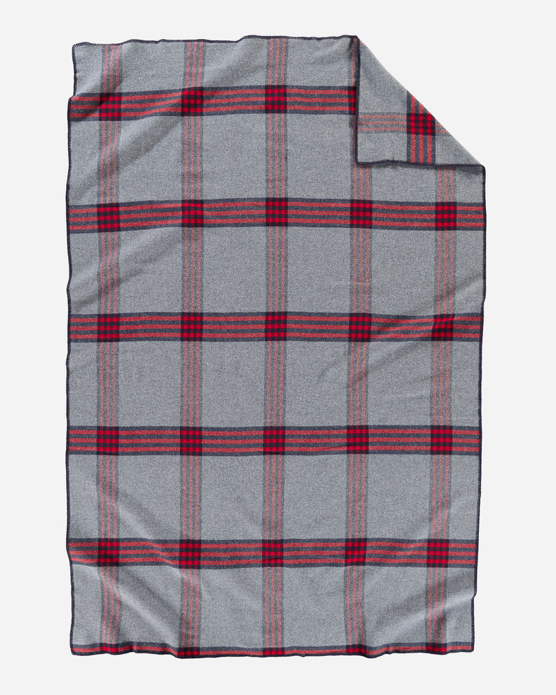 Eco-Wise Easy Care Blanket Camp Plaid