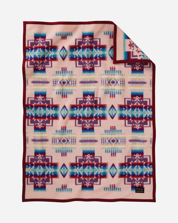 Chief Joseph Baby Blanket Pink
