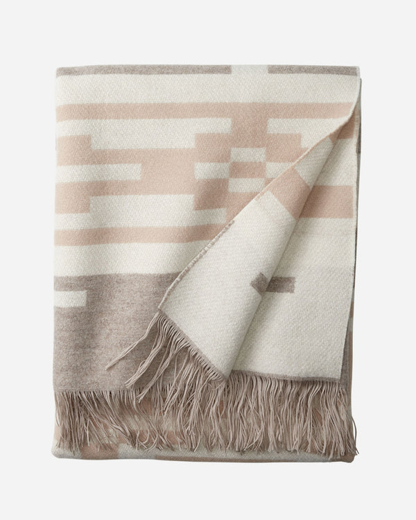 Chimayo Fringed Throw Sandhills