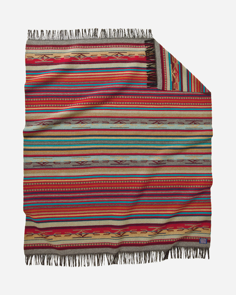 Chimayo Throw Garnet