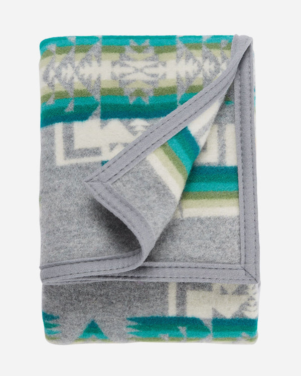 Chief Joseph Baby Blanket Grey