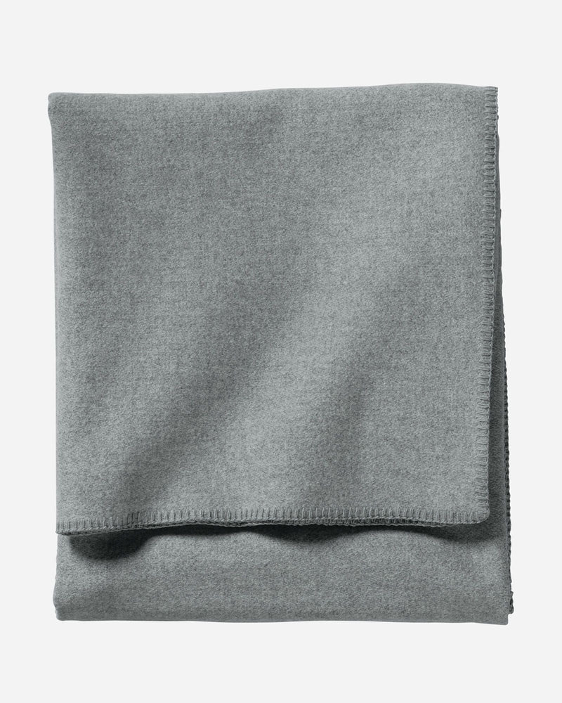 Eco-Wise Wool Blanket Grey Heather