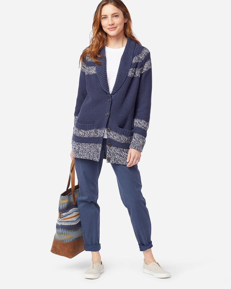 Indigo Diamond Cardigan