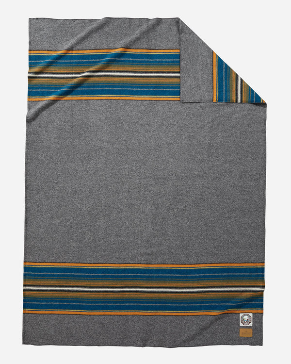 National Park Throw Olympic Grey