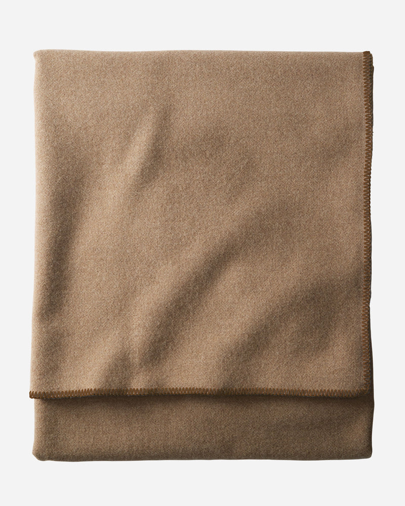 Eco-Wise Easy Care Blanket Camel Heather