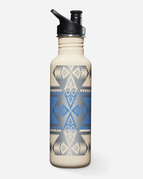 Stainless Steel Water Bottle-Silver Bark