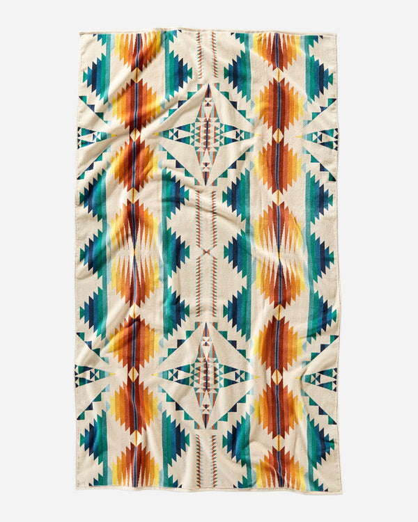 Falcon Cove Sunset Beach Towel