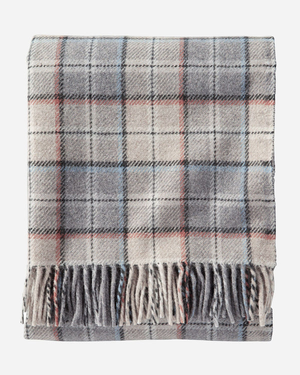 Washable Throws-Pearl (Ez Care Plaid)