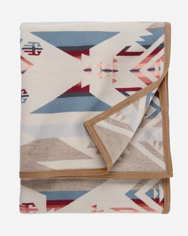 White Sands Jacquard Wool Blanket