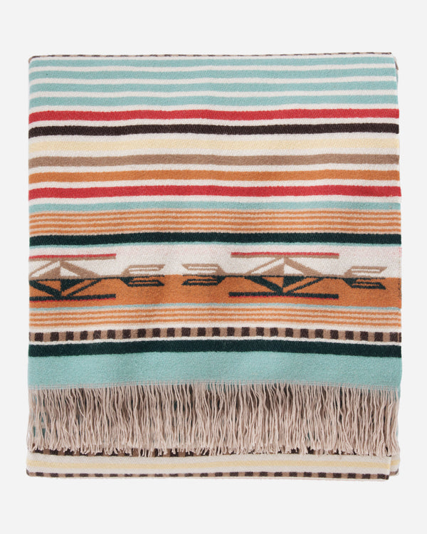 Chimayo Throw-Coral