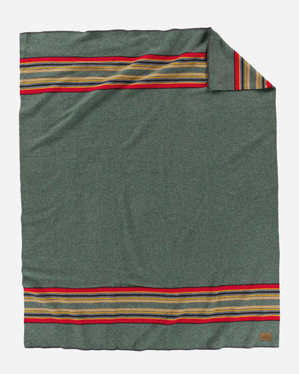 Yakima Camp Blanket Green Heather
