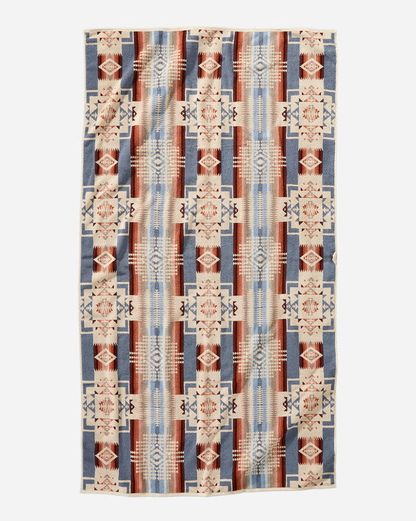 Chief Joseph Rosewood Beach Towel
