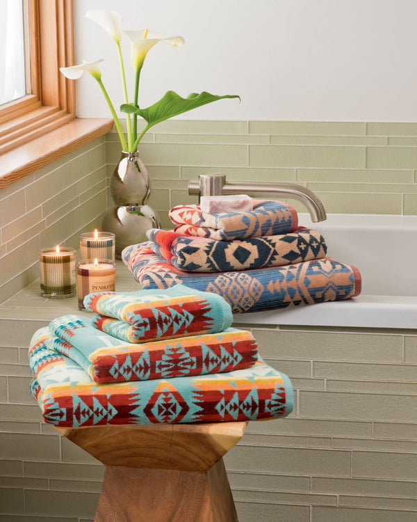 Chief Joseph Bath Towel Aqua