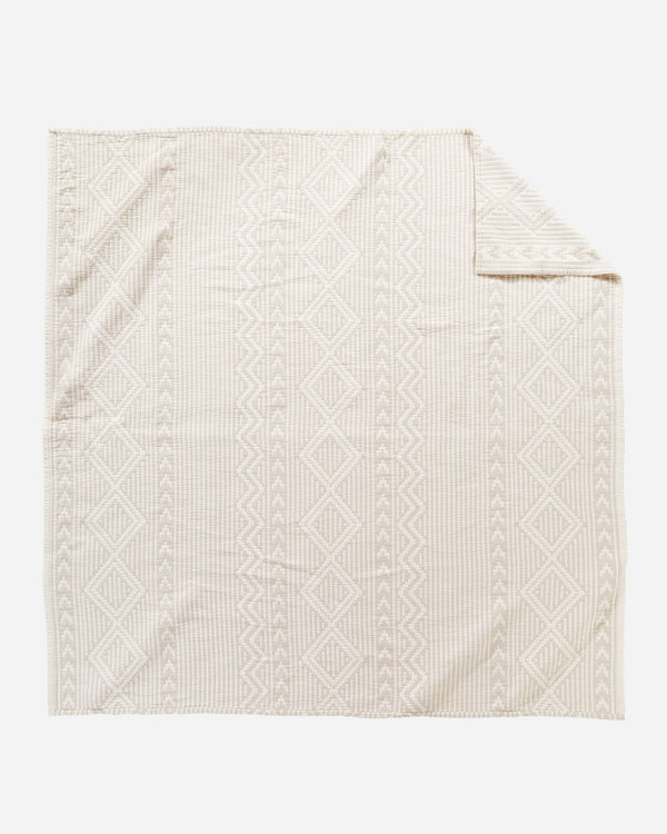 Cotton Matelasse Blanket Ganado