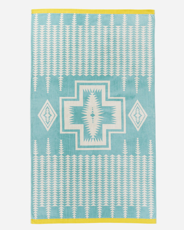 Harding Beach Towel Aqua