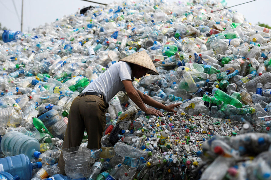 What do you know about recycling? Recycled plastic bottles – rPET
