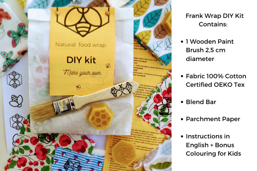 How to make your own natural food wrap with Frank Wrap DIY Kit