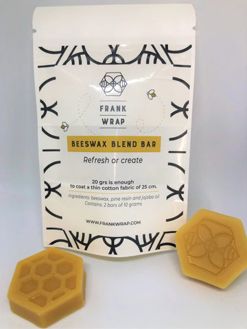 Frank Wrap Beeswax Blend Bar - New Product