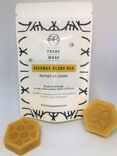 Beeswax Blend Bar by Frank Wrap