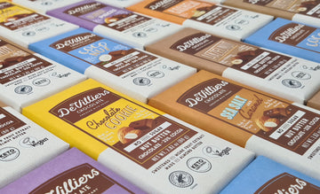 Joy to the world… De Villiers Chocolate launches NO ADDED SUGAR range