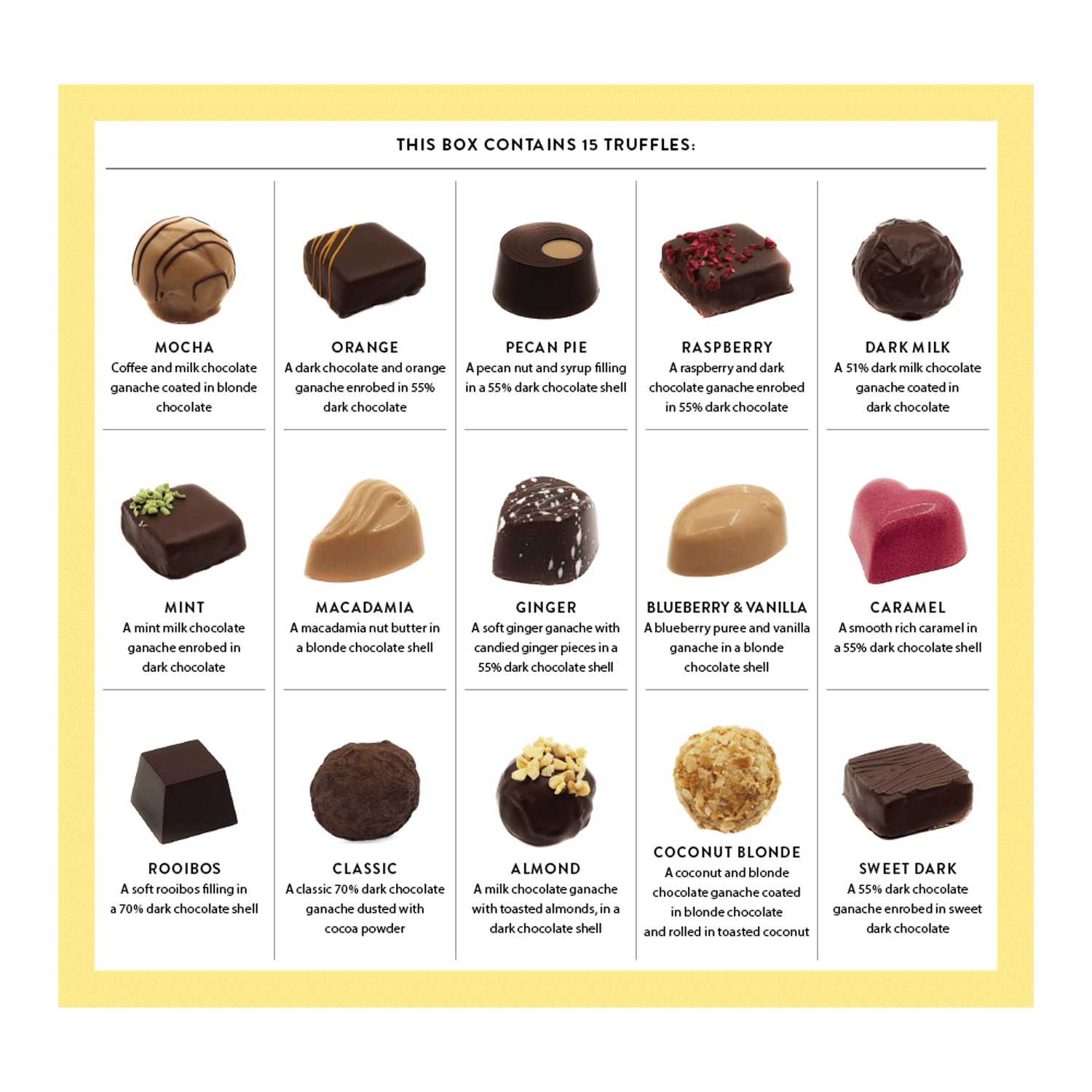 15-Piece Fine Assortment Chocolate