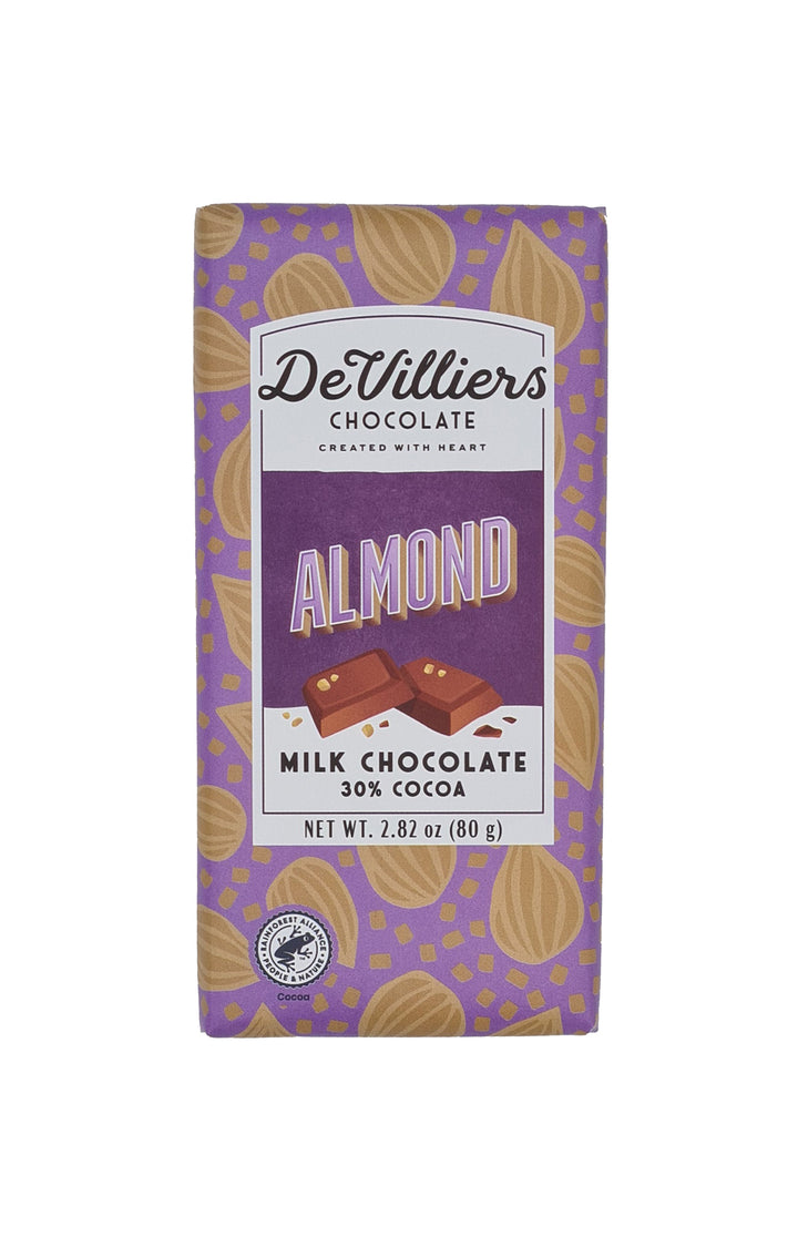 Almond Milk - De Villiers Chocolate