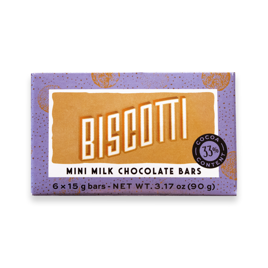 Mini Bar Pack Biscotti - De Villiers Chocolate