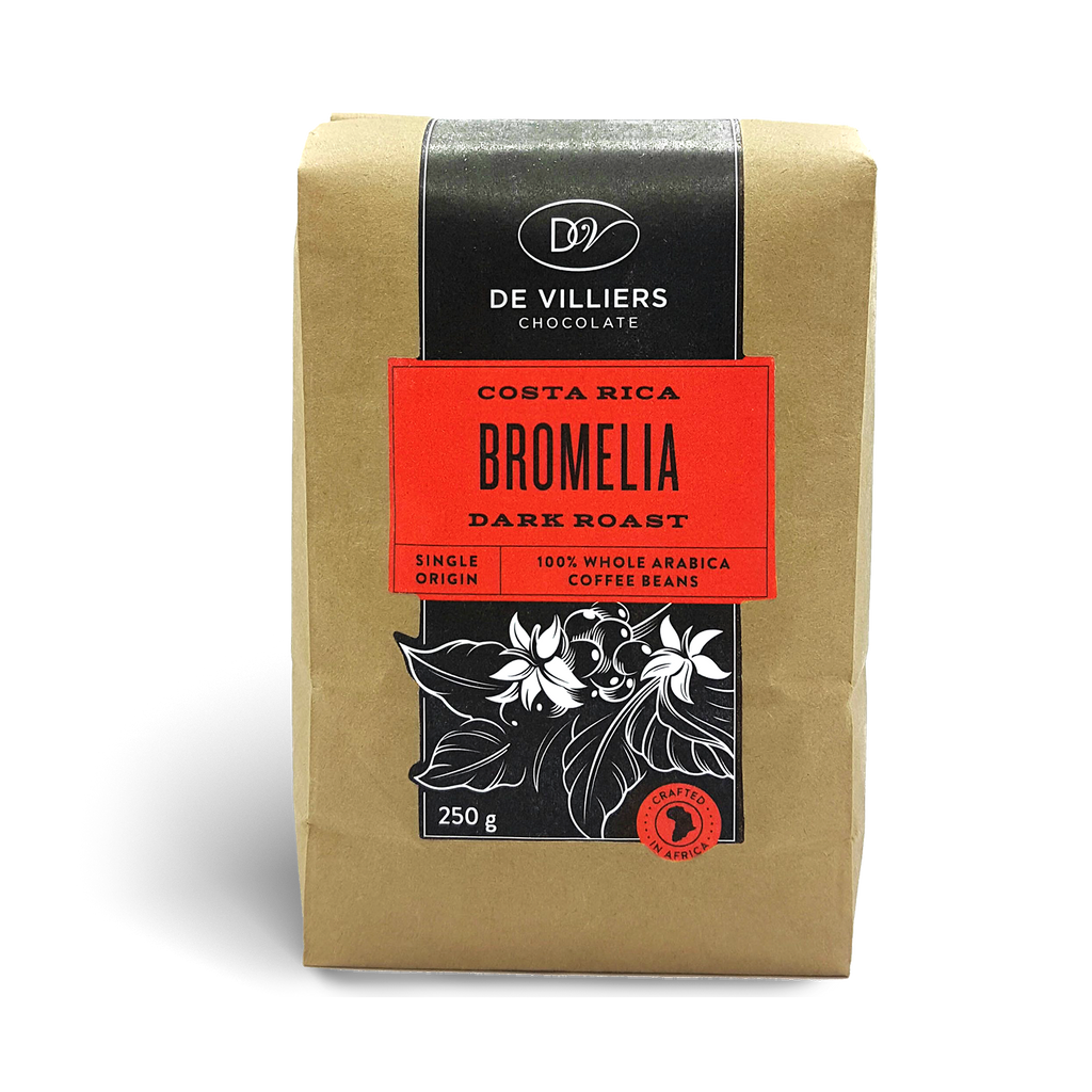 Costa Rica Bromelia Coffee Beans - De Villiers Chocolate