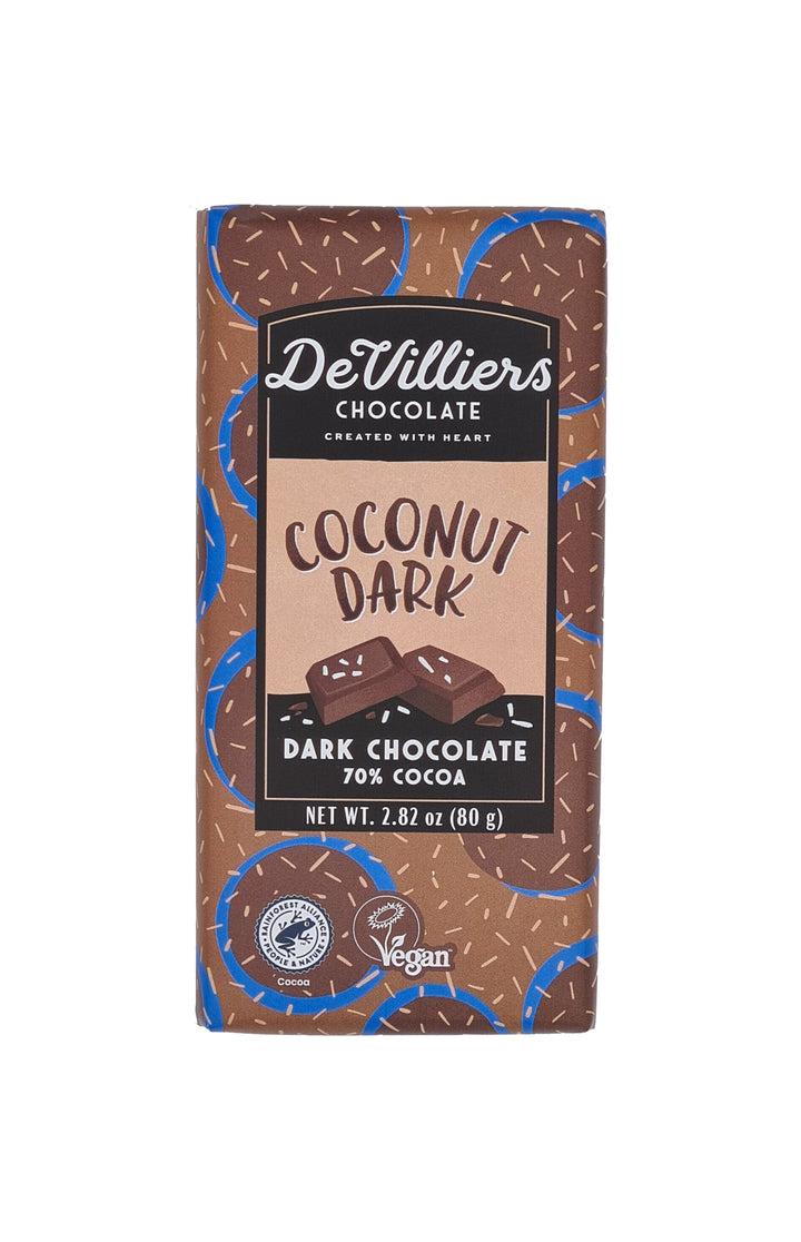 COCONUT DARK - De Villiers Chocolate