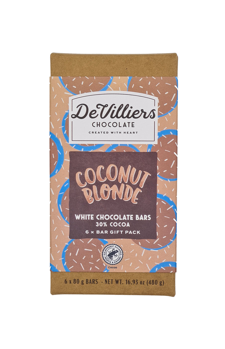 Coconut Blonde - De Villiers Chocolate