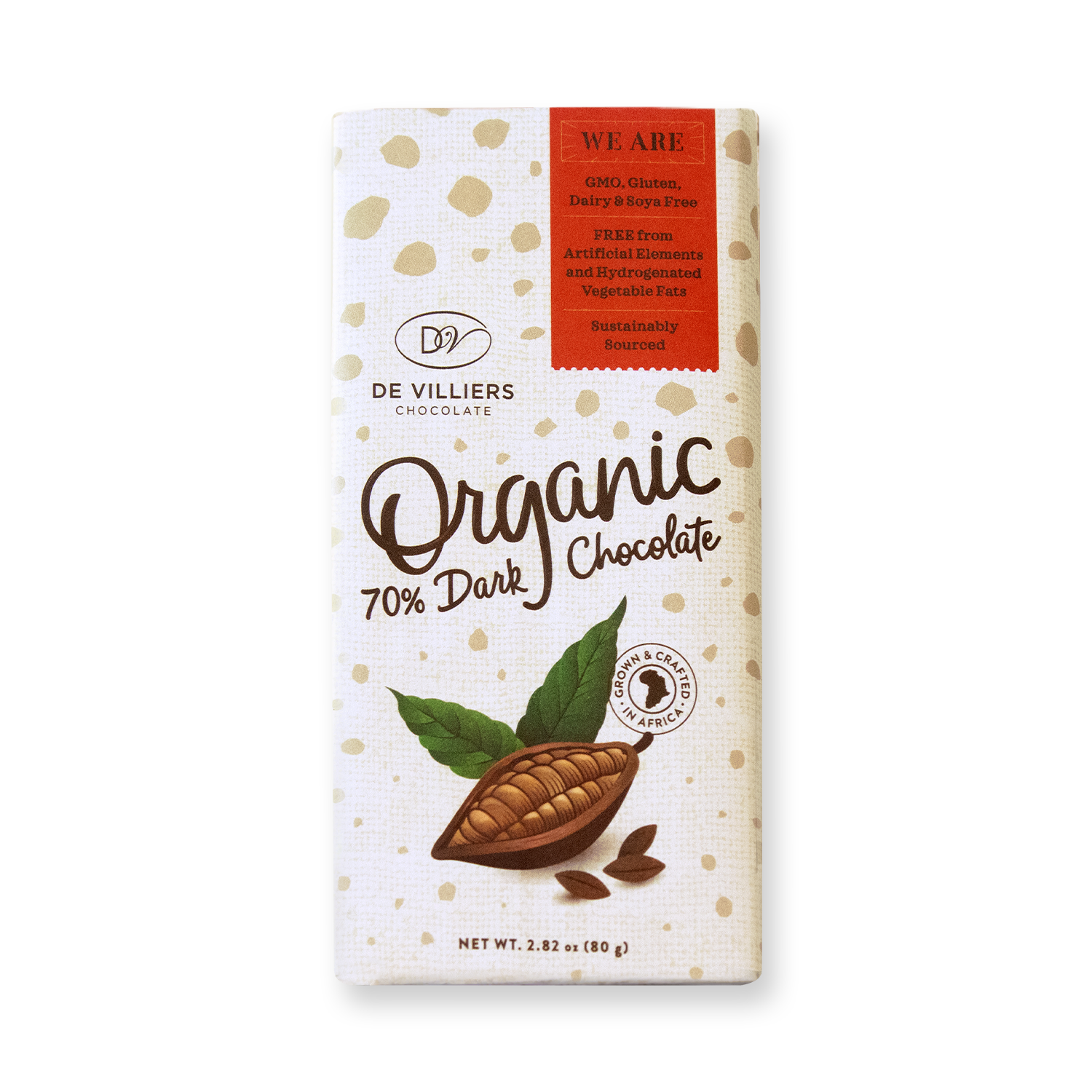 Organic 70% dark Chocolate