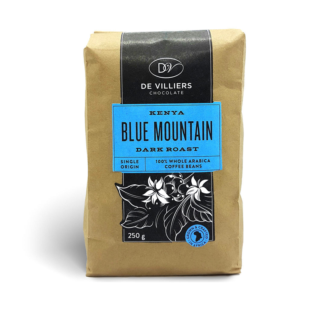 Kenya Blue Mountain Coffee Beans - De Villiers Chocolate