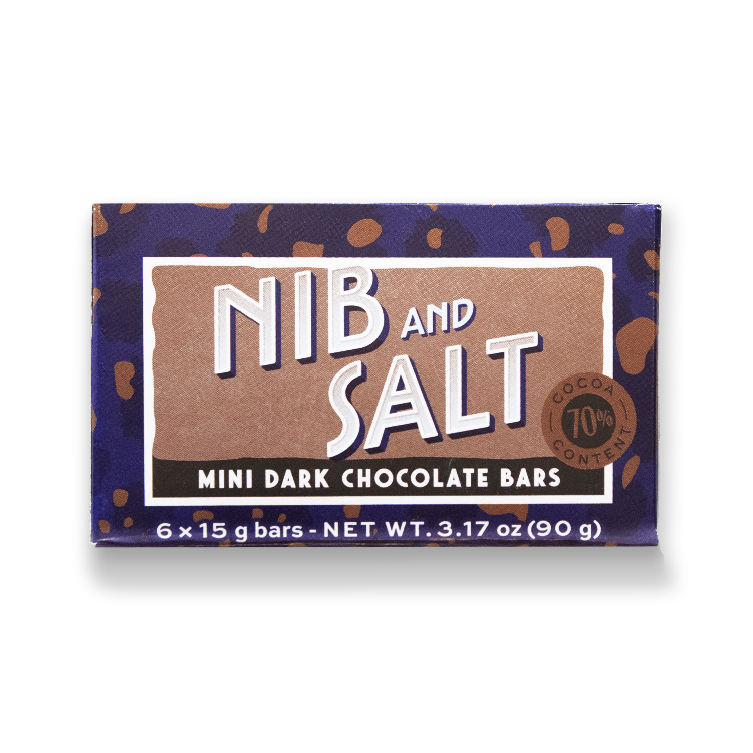 Mini Bar Pack Nib & Salt Dark