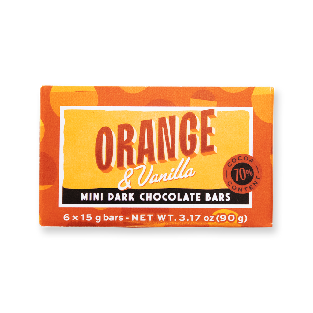 Mini Bar Pack Orange & Vanilla Dark